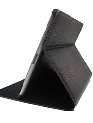 For Case Cover with Stand Auto Sleep / Wake Full Body Case Solid Color PU Leather for iPad 4/3/2
