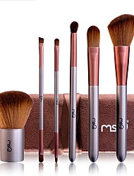 cheap -1set Makeup Brush Set Synthetic Hair Easy to Use Easy Carrying Easy to Carry Wood Men Face Men and Women Nursing Eyes Lips Lip