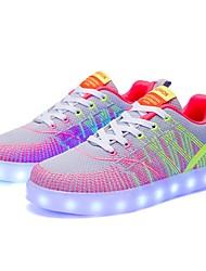 Women's Athletic Shoes Comfort Light Soles Light Up Shoes Spring Fall Tulle Athletic Casual Party & Evening Outdoor Office & Career