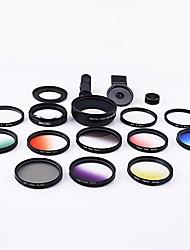 Obiettivi della macchina fotografica dello smartphone xihama obiettivo 0.45x grandangolo 12.5x macro occhiali da vista cpl per ipad iphone