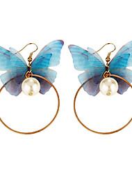 economico -Per donna Orecchini a goccia Perle finte Classico Di tendenza stile della Boemia Personalizzato stile sveglio Fatto a mano Gioielli di