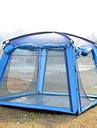 Недорогие -Trackman® 4 человека Палатка с экраном от солнца Дом с экраном от солнца На открытом воздухе Дожденепроницаемый, Защита от пыли, Складной Однослойный Палатка 1500-2000 mm для