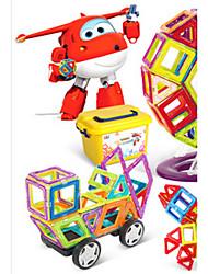 economico -Costruzioni Mattoncini magnetici Costruzioni con magneti Giocattoli Circolare Ferro battuto Per bambini Pezzi