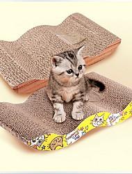 Jouet pour Chat Jouets pour Animaux Cataire Griffoir Papier Pour les animaux domestiques