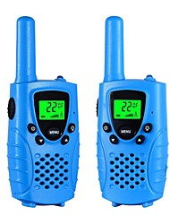 Walkie Talkies for Kids 22 Channel Micro USB charging 2 Way Radio 3 Miles (Up to 5Miles) FRS/GMRS Handheld Mini Walkie Talkies for Kids (Pair)