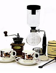 NaLiYa Hero Z209 Ice Cream Coffee Pot Drip Glass Ice Coffee Machine 2-4 Cups 2TB