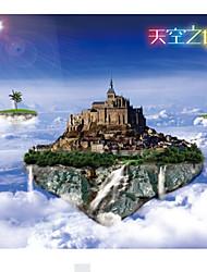 Quebra-Cabeça Quebra-Cabeças de Madeira Brinquedos Cúpula Arquitetura Chinesa Outra Unisexo Peças