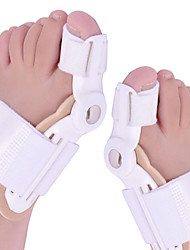 cheap -1Pair Toe Separator Big Toe Bone Bunion Shield Hallux Valgus Splint Pro Protector Corrector Alignment Foot Massager Pedicure Orthopedic Support Brace