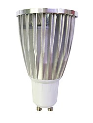 cheap -6W GU10 LED Spotlight MR16 1 leds COB Dimmable Warm White White 480lm 3000-3500/6000-6500K 110-120V