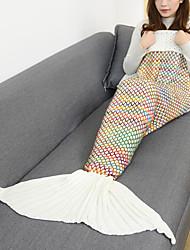 Blanket Travel Blanket Emergency Blanket Casual/Daily Mermaid