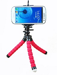 cheap -ASJ-Colorful Mini Flexible Sponge Tripod Holder For Cell Phone