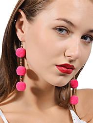 abordables -Femme Balle Personnalisé Mode Le style mignon Bijoux Rouge Rose Bleu royal pour Quotidien Décontracté Plein Air Sortie