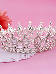 cheap -Imitation Pearl Rhinestone Alloy Tiaras Headbands Headwear with Floral 1pc Wedding Special Occasion Birthday Party / Evening Headpiece