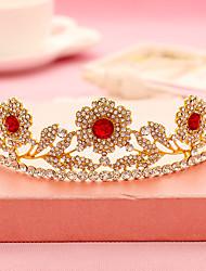 preiswerte -Strass Legierung Tiaras Stirnbänder Kopfschmuck klassischen weiblichen Stil