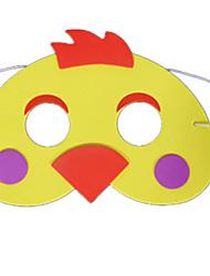 Artigos de Festa Decoração Máscaras de Dia das Bruxas Máscara de Animal Brinquedos Galinha Tema de Horror Mulheres Peças