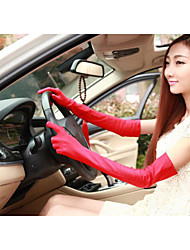 cheap -Women's Basic Polyester Fingertips Gloves - Solid Colored