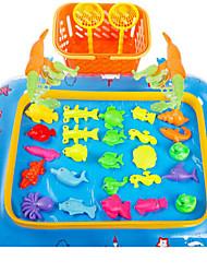 economico -Magneti giocattolo Giocattoli di pesca Giocattoli Circolare Prodotti per pesci Plastica Per bambini 1 Pezzi