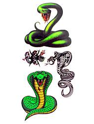 Tattoo Stickers Animal Series Pattern Lower Back Waterproof Women Men Teen Flash Tattoo Temporary Tattoos