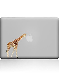 cheap -MacBook Case For New MacBook Pro 13 15 Air 11 13 Pro Retina 13 15 Macbook 12 Case Cover PVC Material Transparent Giraffe MacBook Case