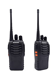 2pcs walkie talkie baofeng bf-888s 16ch uhf 400-470mhz baofeng 888s radio del prosciutto hf transceiver amador portatile