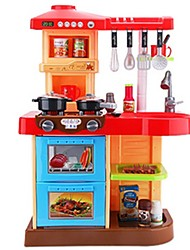 cheap -Pretend Play Toy Kitchen Sets Toy Foods Kids' Cooking Appliances Toys Simulation Kids Pieces