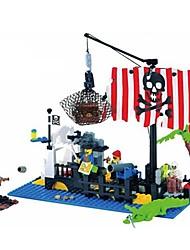cheap -ENLIGHTEN Building Blocks Ship Pirate Ship Pirate Pirates Unisex Toy Gift