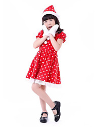 cheap -Little Red Riding Hood Cosplay Costume Masquerade Kids Girls' Christmas Carnival Festival / Holiday Halloween Costumes Others Vintage