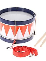 Недорогие -Красочные дети дети toddler барабан музыкальная игрушка ударный инструмент с ремешком для барабанных палочек