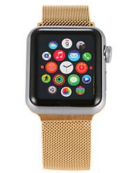 baratos -Pulseiras de Relógio para Apple Watch Series 3 / 2 / 1 Apple Pulseira Estilo Milanês Aço Inoxidável Tira de Pulso
