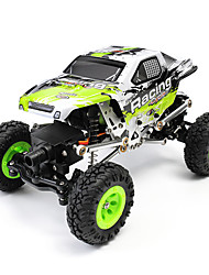 cheap -RC Car WL Toys 24438-B 2.4G Rock Climbing Car Off Road Car High Speed 4WD Drift Car Buggy 1:24 Brush Electric 10 KM/H Remote Control