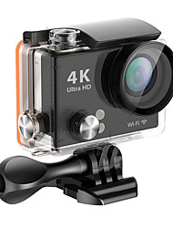 H2 Ultra HD 4 To 2 Inch LCD 170 Degrees Angle Of Review 12.0 Megapixel Wi-Fi Waterproof Action Sports Cameras
