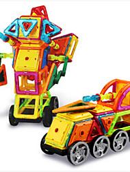 economico -Costruzioni Mattoncini magnetici Costruzioni con magneti Giocattoli Auto Ferro battuto Per bambini Pezzi