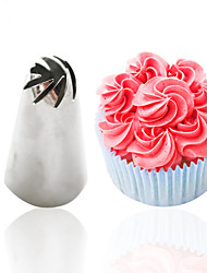 cheap -DIY Baking Tools 1pc Flower Icing Piping Nozzles Sugar Craft Cream Cupcake Decoration Set
