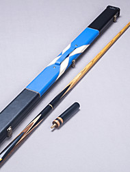 Tre quarti due pezzi Cue Cue Sticks & Accessori Snooker English Biliardo Cenere Ebano