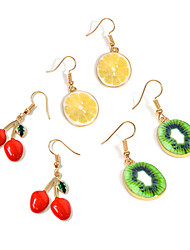 cheap -Women's Drop Earrings Fashion Personalized Costume Jewelry Alloy Fruit For Daily Casual Street Going out Wedding Gifts