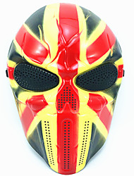 Masques d'Halloween Accessoires de Célébrations Déco de Fête Décoration Gadget pour Blague Pour Halloween Masques de Carnaval Masque de