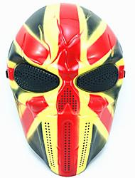 halloween creativo cranio spaventoso fantasma maschera wargame capo tattico cs cosplay camouflage sindacato jack cavaliere maschera