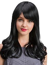 Спелые изящные черные волосы длинные волосы человеческие волосы парики для женщин
