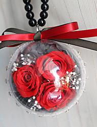 abordables -Diy pendentifs automobiles décoration fleur cadeau voiture pendentif&Ornements verre cristal
