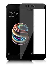 お買い得  -スクリーンプロテクター のために XIAOMI Xiaomi Mi 5X 強化ガラス 1枚 フルボディプロテクター ハイディフィニション(HD) / 硬度9H / 2.5Dラウンドカットエッジ