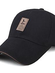 Da uomo Primavera/Autunno Cotone Cappelli Cappello da sole,Solidi