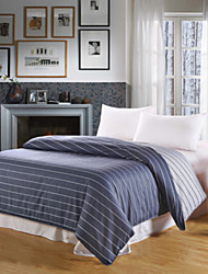 Stripe Material 1pc Duvet Cover