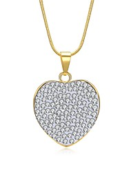 Women's Choker Necklaces Pendant Necklaces Chain Necklaces Cubic Zirconia Rhinestone AAA Cubic Zirconia Heart Geometric IrregularZircon