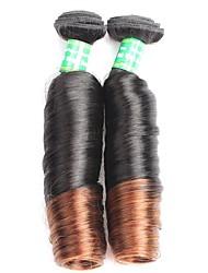 cheap -Ombre Brazilian Hair 4 Bundles Brazilian 1B/4# Brazilian Virgin Hair Ombre Hair Extensions Ombre Human Hair