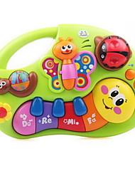 Недорогие -Электронная клавиатура Игрушечные музыкальные инструменты Rabbit Пианино Музыкальные инструменты Животный принт Веселье Детские