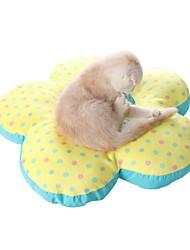 Недорогие -Кошка Собака Кровати Животные Коврики и подушки Цветы