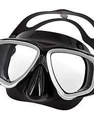 preiswerte -Tauchmasken Maske zum Schnorcheln Tragbar Wasserfest Tauchen und Schnorcheln Silikon für Unisex