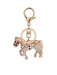 cheap -Fashion Horse Es Studded With A Key Chain