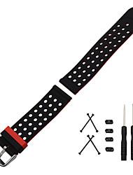 Недорогие -Для suunto основной браслет браслет браслет браслет силиконовый резиновый ремешок для часов двойной стороны носить ремень адаптер