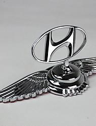 Logotipo automotivo capa especial do carro capa padrão do motor liga de zinco